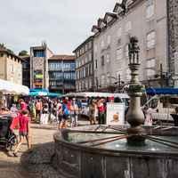 Place de l'Hôtel de ville - marché - Dorian Loubière