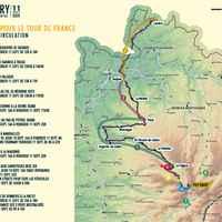se déplacer pour le Tour de France