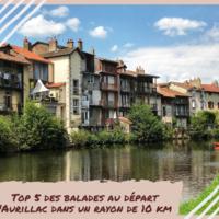 Top 5 des balades au départ d'Aurillac dans un rayon de 10 km