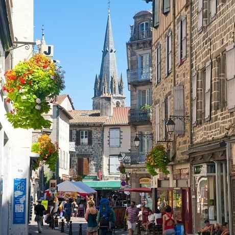 Aurillac commerces