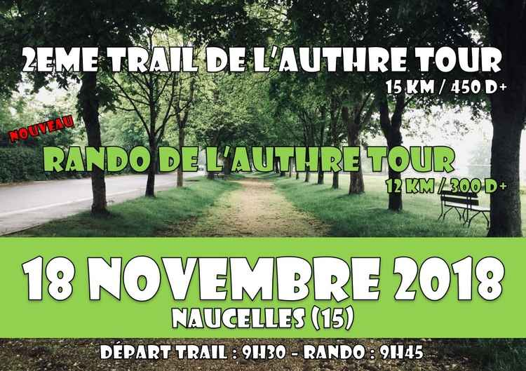 trail de l'authre